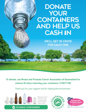 Donate your containers
